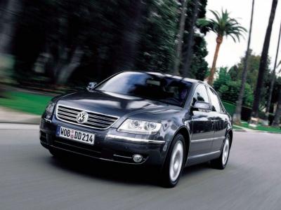 2002 Volkswagen Phaeton. Volkswagen Phaeton (2002)