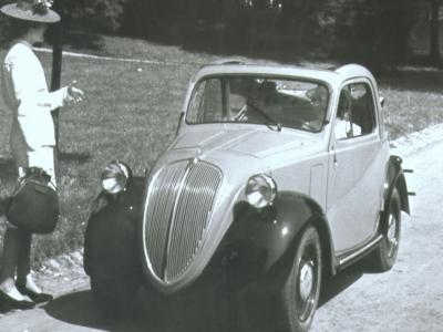 1948 Fiat Topolino 500 B. Fiat Topolino 500 B (1948)