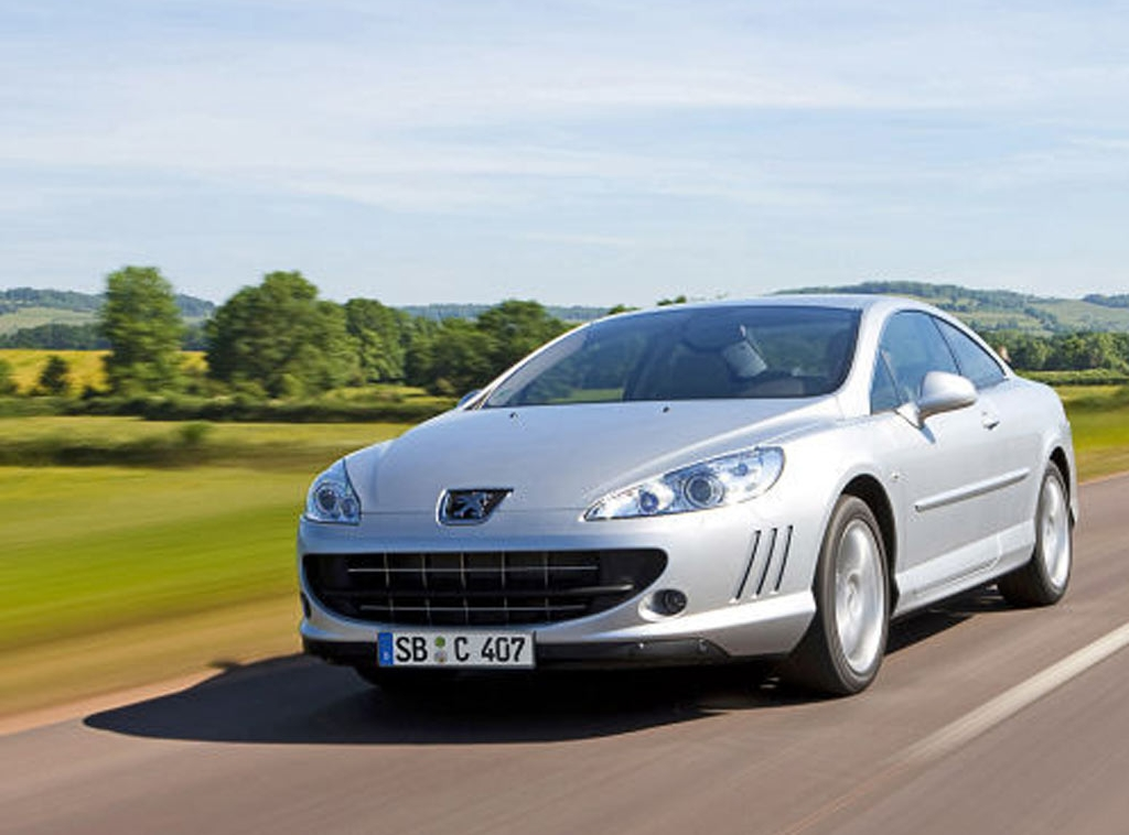 peugeot 407 coupe 3 0 hdi platinum. Black Bedroom Furniture Sets. Home Design Ideas