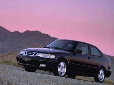 1998 Saab 9 3 Coupe. Saab 93 Coupé.