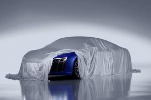 Audi R8 faros laser