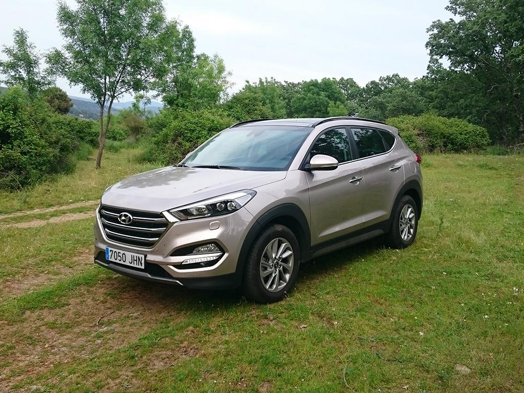 Hyundai Tucson de promoción por España