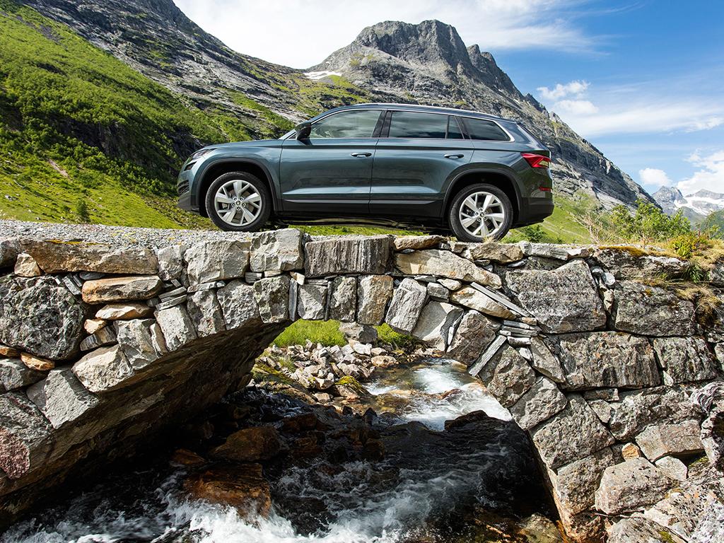 Un nuevo SUV anda suelto, Skoda Kodiaq