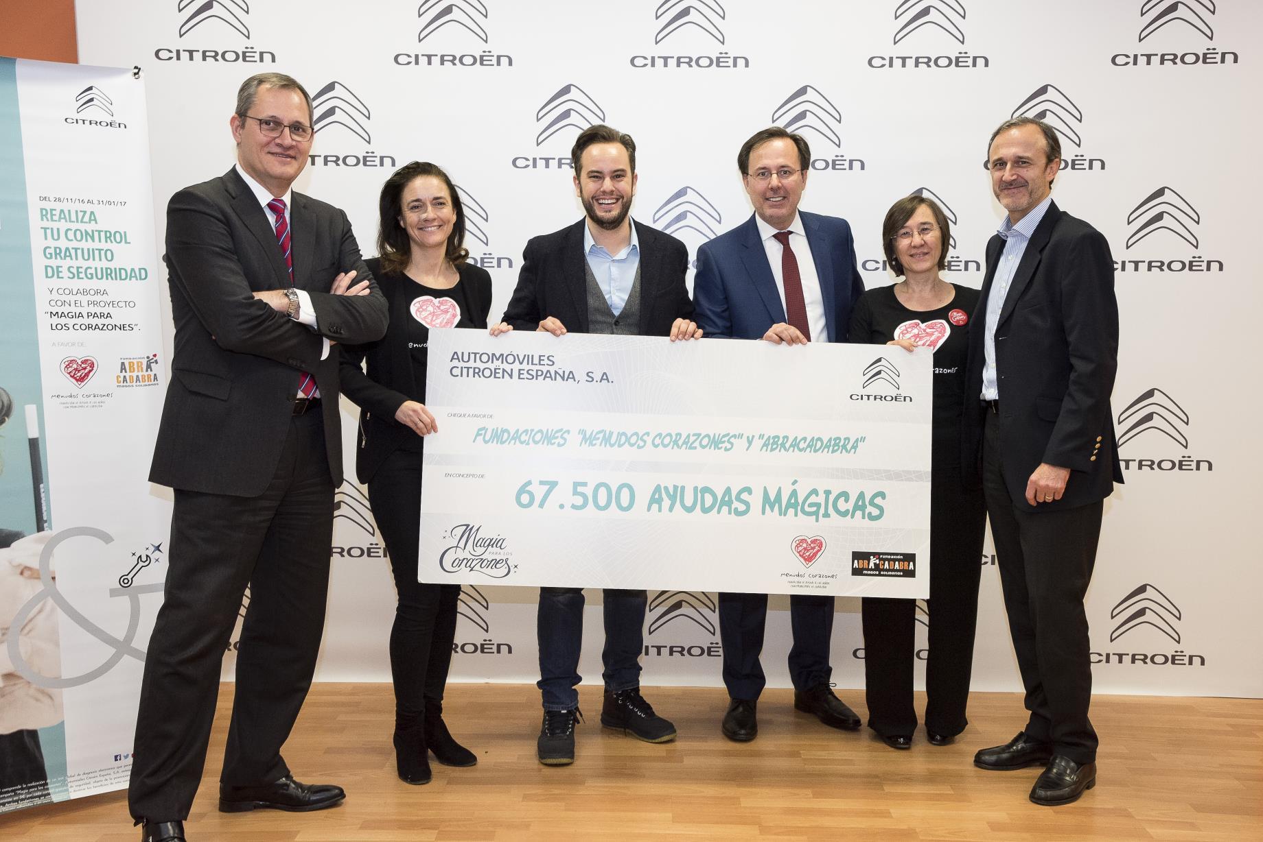 Citroën cierra con éxito su campaña solidaria Magia para los Corazones