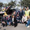 Carlos Sainz y el Peugeot 3008 DKR en PSA en Madrid