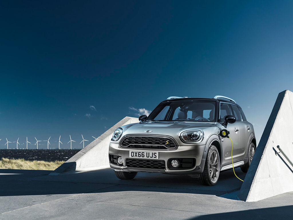 Ya es una realidad el MINI Cooper SE Countryman ALL4
