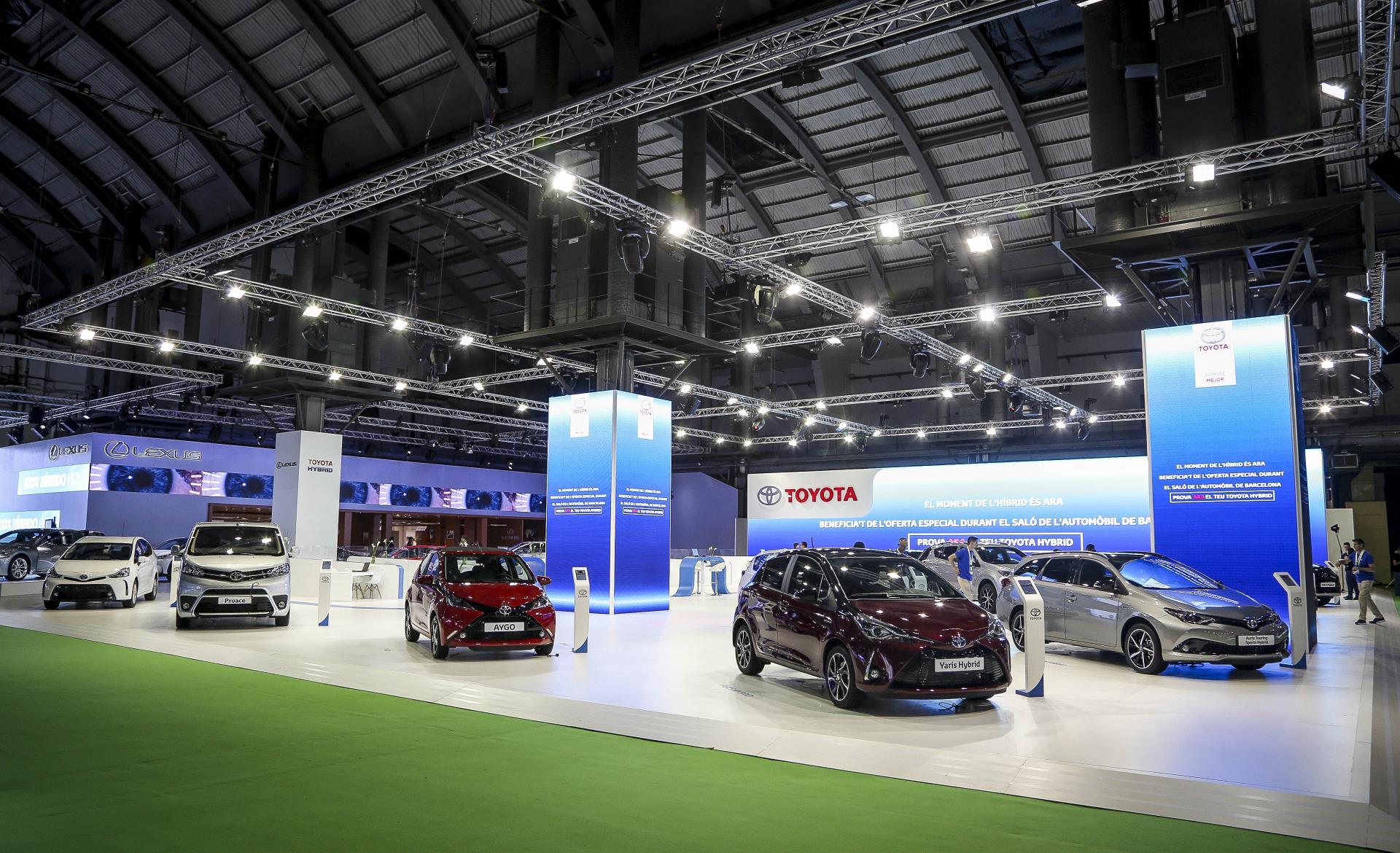 Automobile Barcelona, territorio Toyota Hybrid