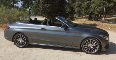 Elegante y deportivo, Mercedes Benz Clase C Coupé Cabrio