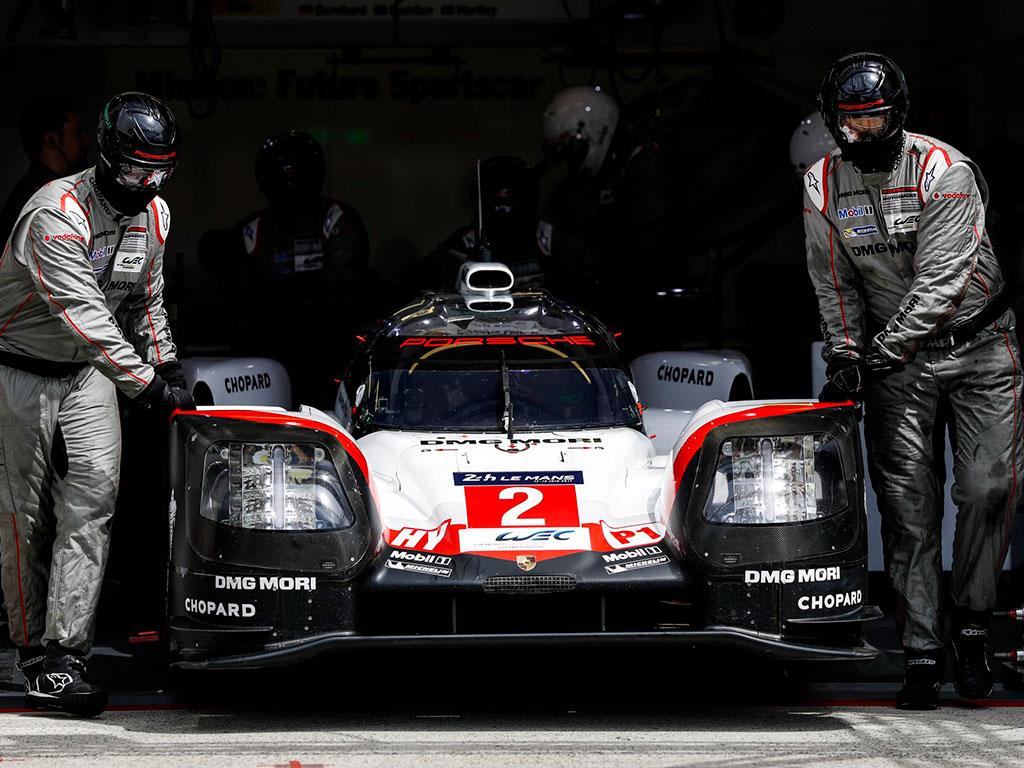 El equipo Porsche LMP a por todas