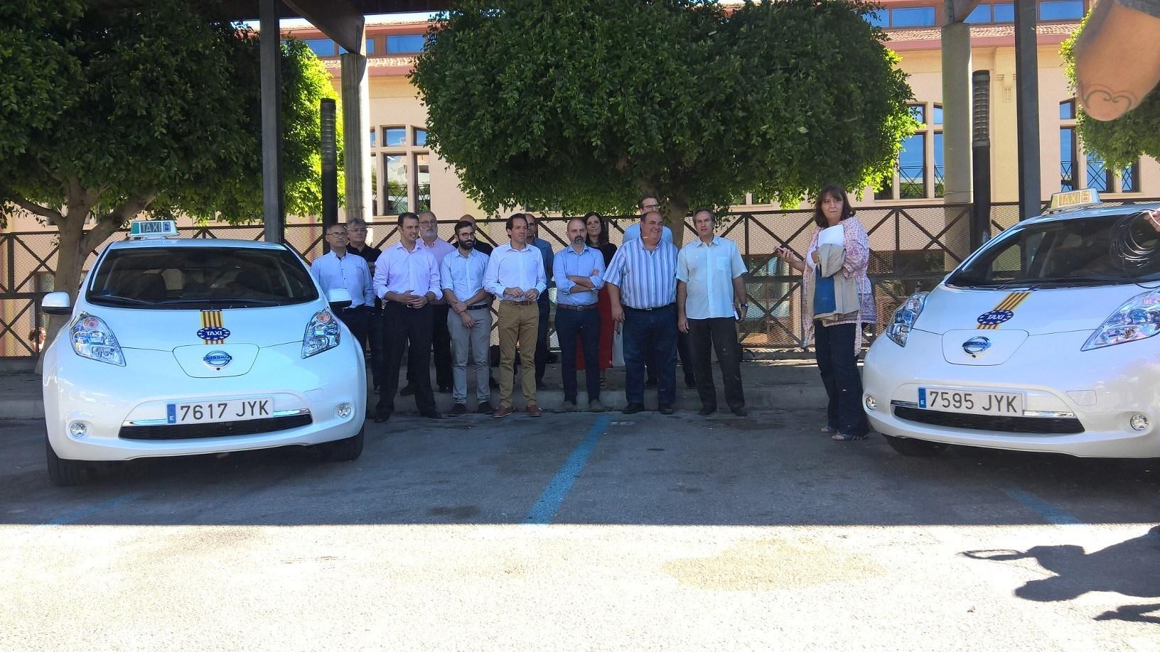 El Nissan LEAF incrementa su presencia como Taxi