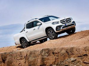 El Pick Up de Mercedes Benz se llama Clase X
