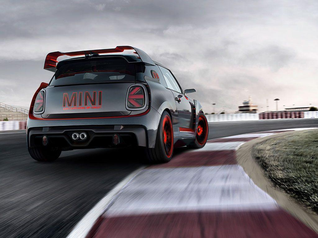 Espectacular MINI JCW GP Concept