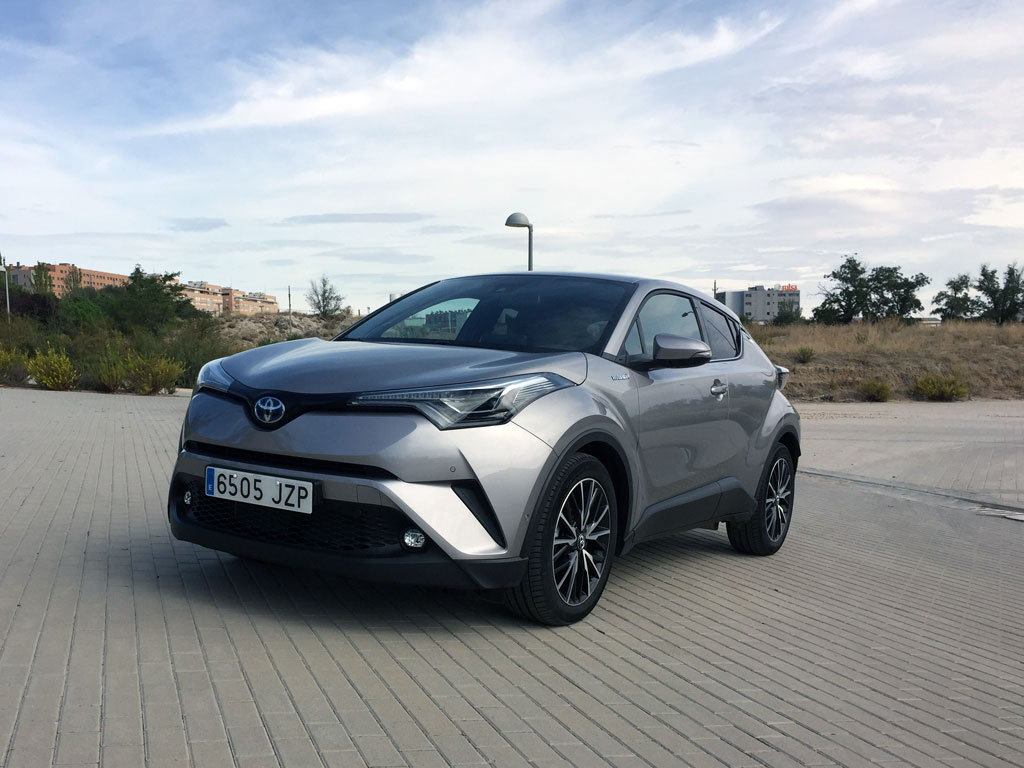 Toyota C-HR, el SUV silencioso