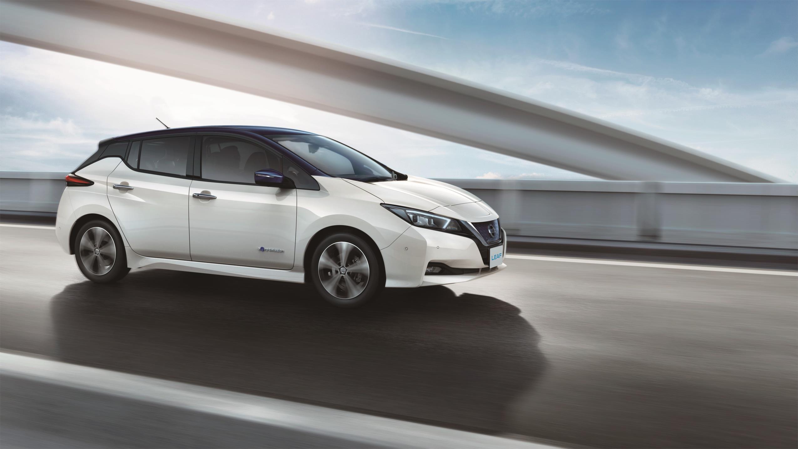 Nissan LEAF, el futuro de la movilidad inteligente de Nissan