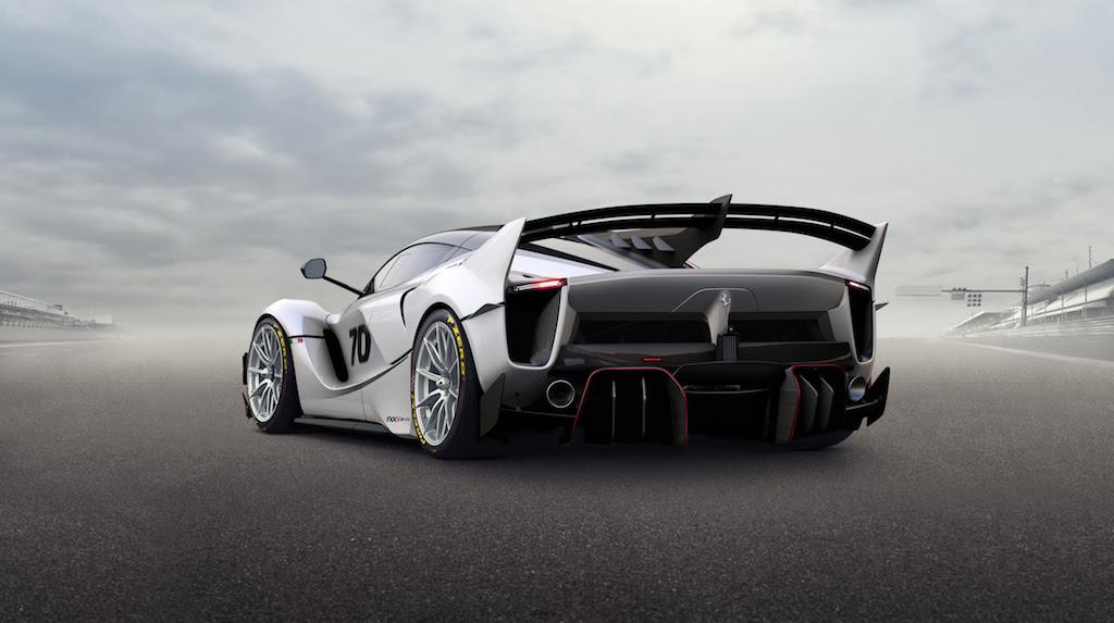Ferrari FXX-K EVO, extremo