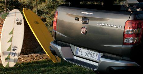 Fiat Fullback Cross, built to escape