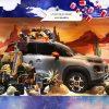 El Citroën C3 Aircross celebra la Navidad en París