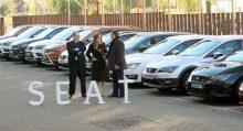 SEAT dona 20 coches a la Consejería de Educación de la Junta de CyL