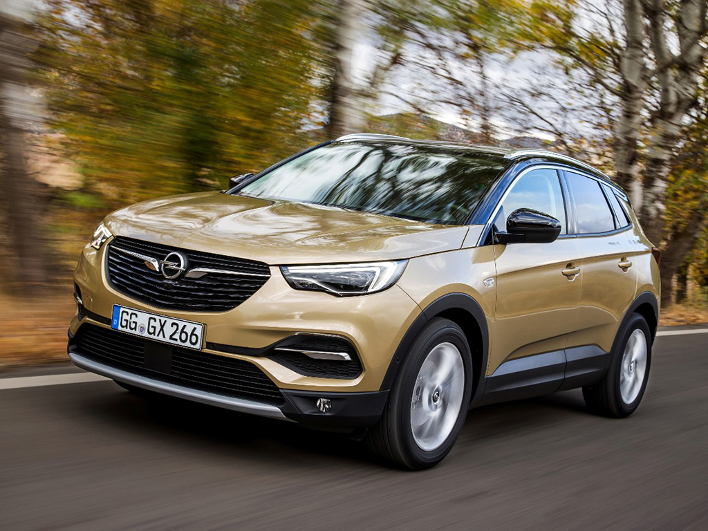 Opel Grandland X. Actualización