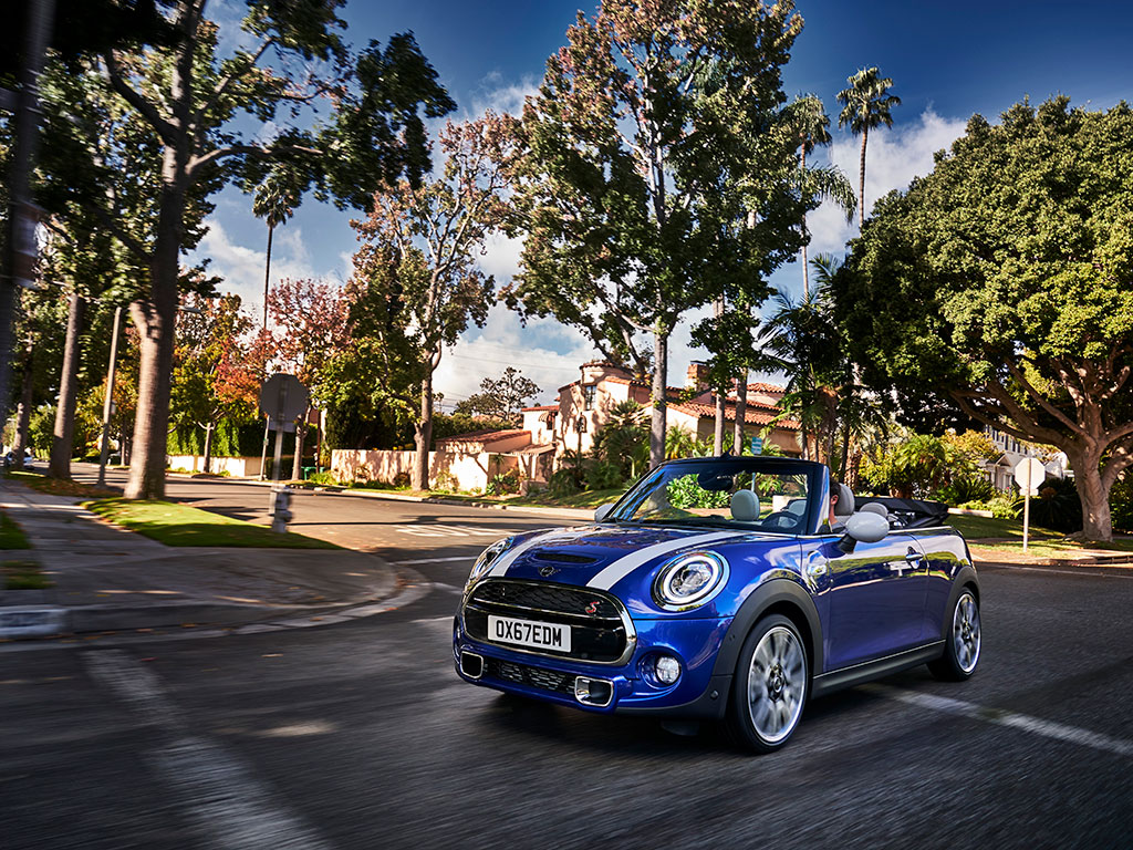 Mini 3p, 5p y Cabrio, aire fresco