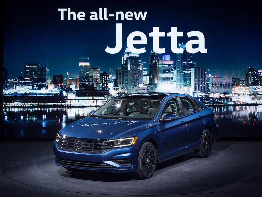 Volkswagen Jetta debuta en Detroit