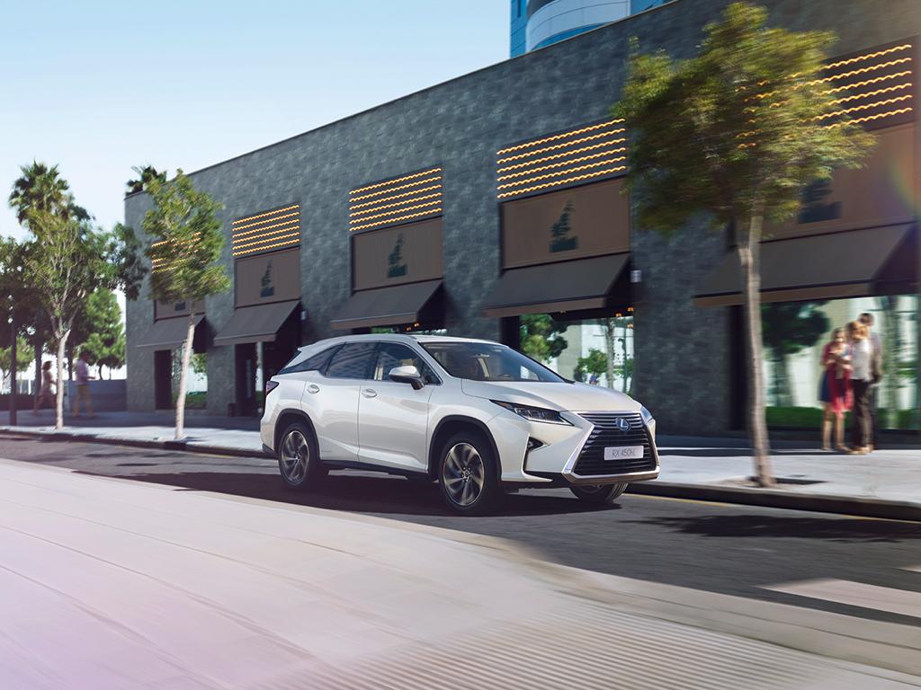 Lexus RX 450h L, SUV de 7 plazas