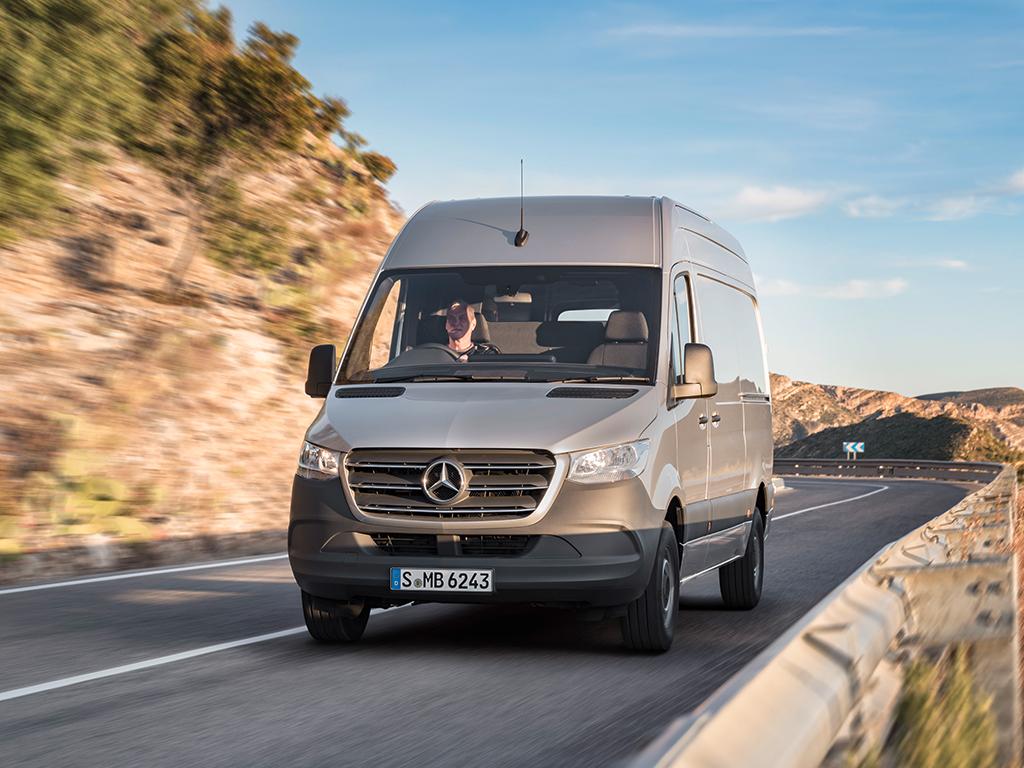 Mercedes Benz Vans con la nueva Sprinter