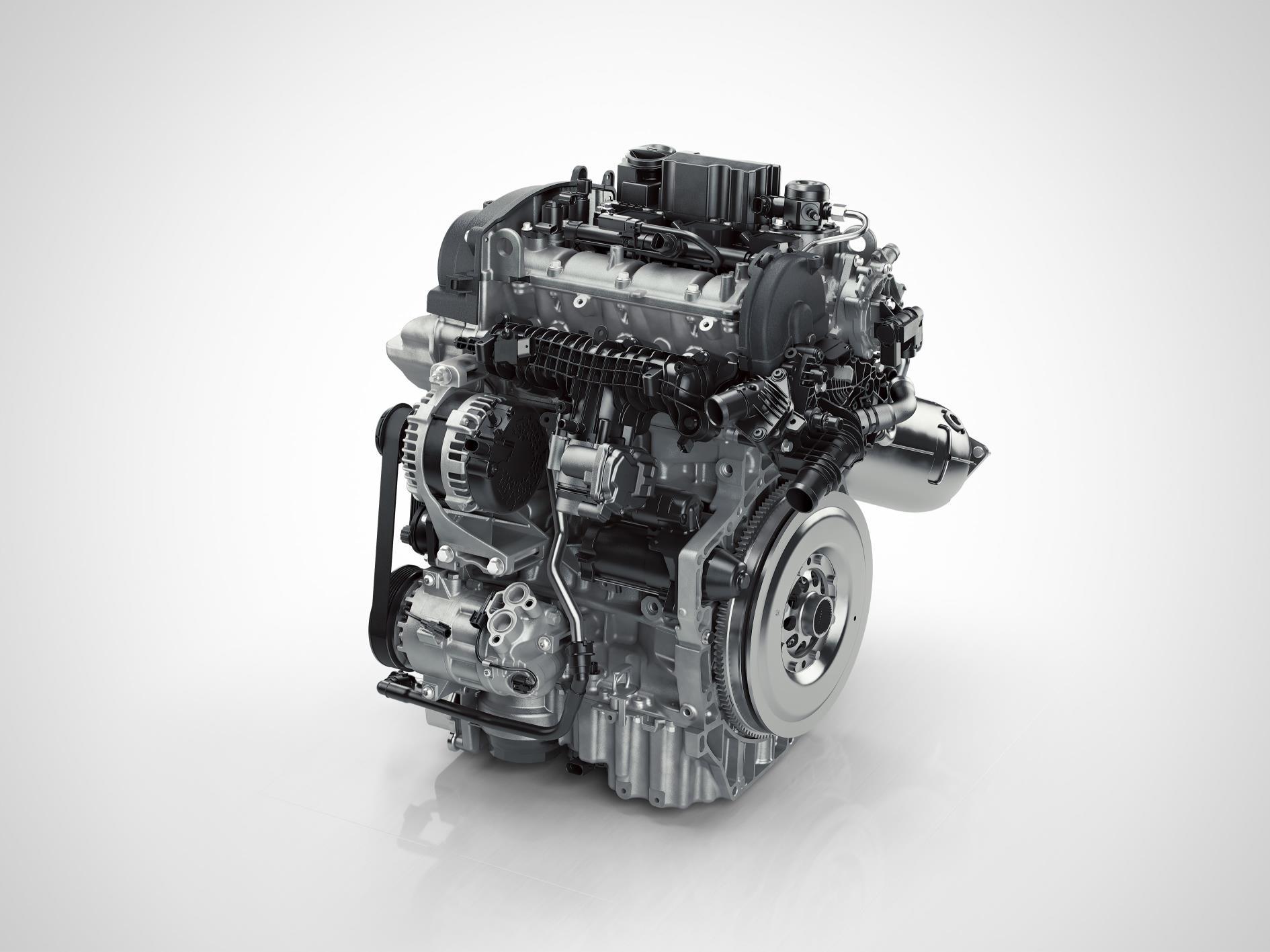 Nuevo motor de 3 cilindros para el Volvo XC40