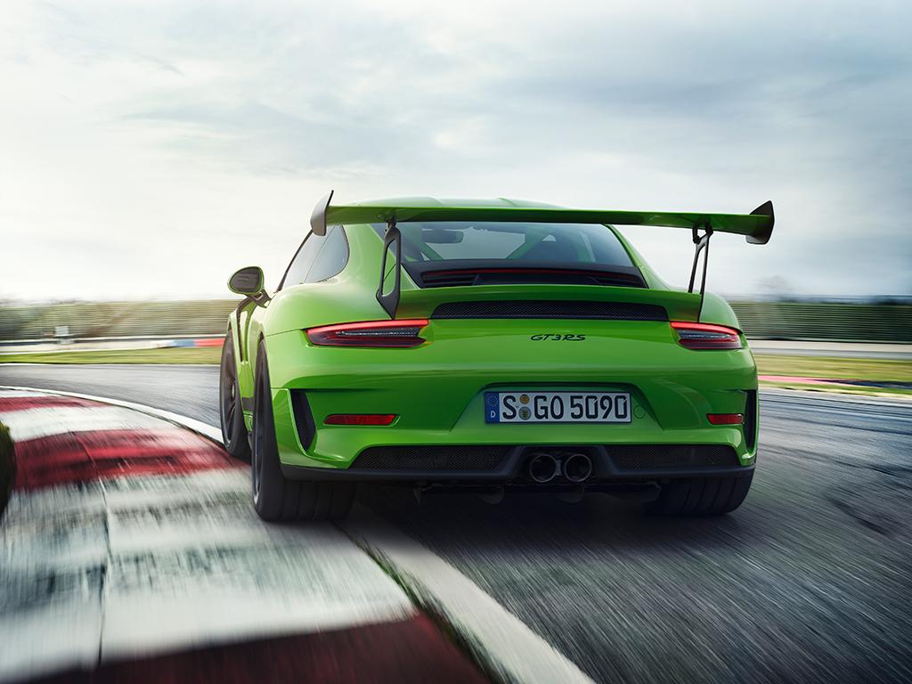 Porsche 911 GT3 RS Actualización