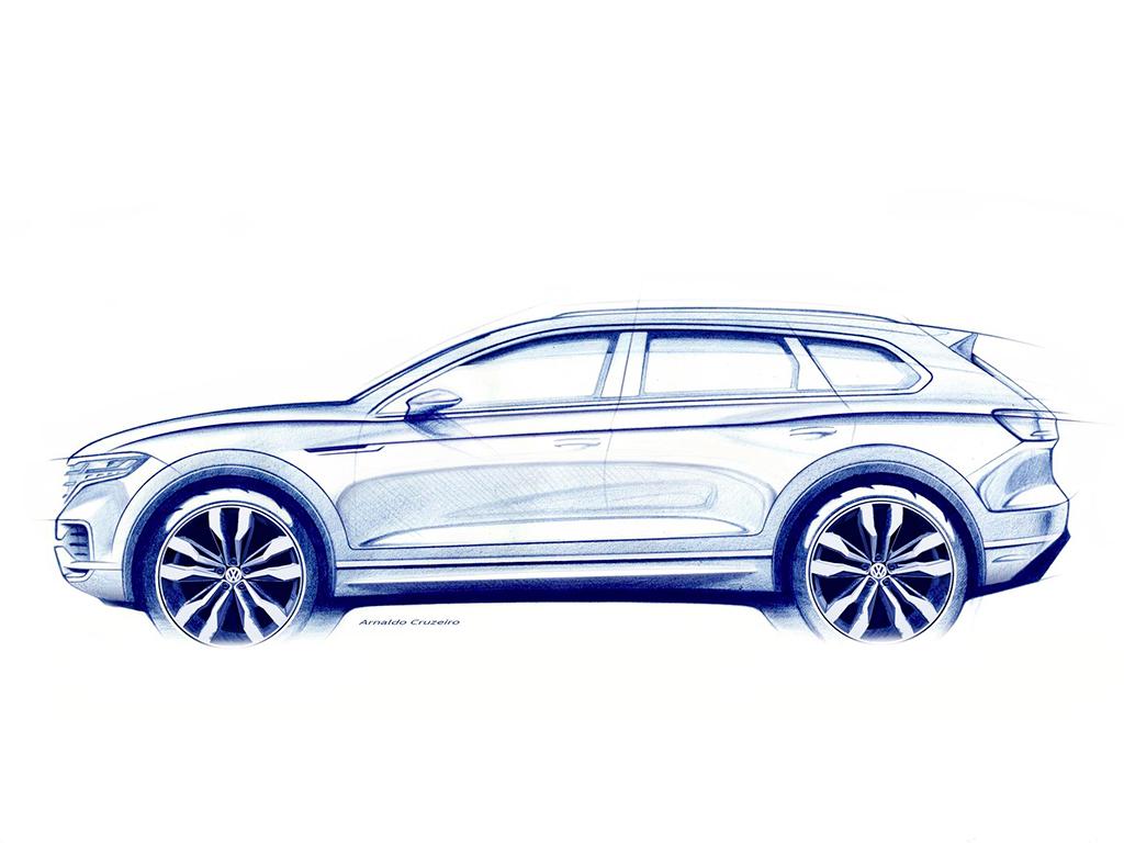 Presentación Mundial Volkswagen Touareg