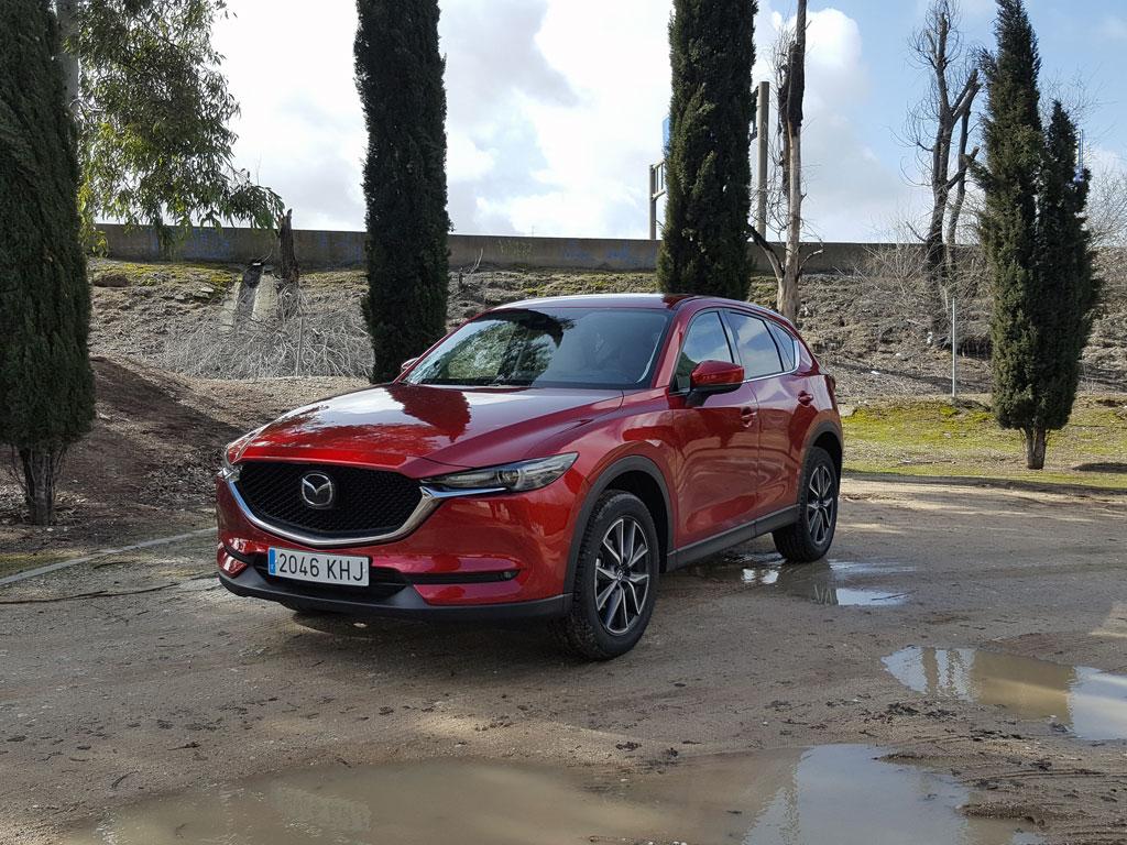 Prueba Mazda CX 5 diesel