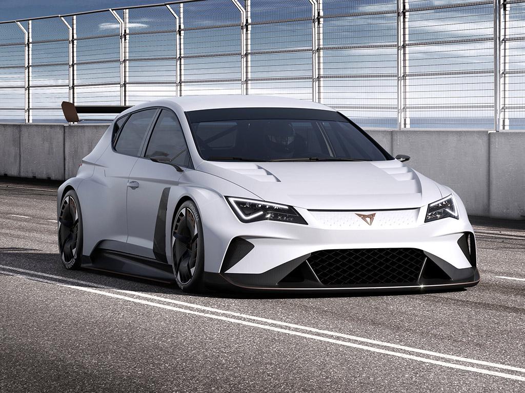 SEAT Cupra e-Racer, de competición 100% eléctrico