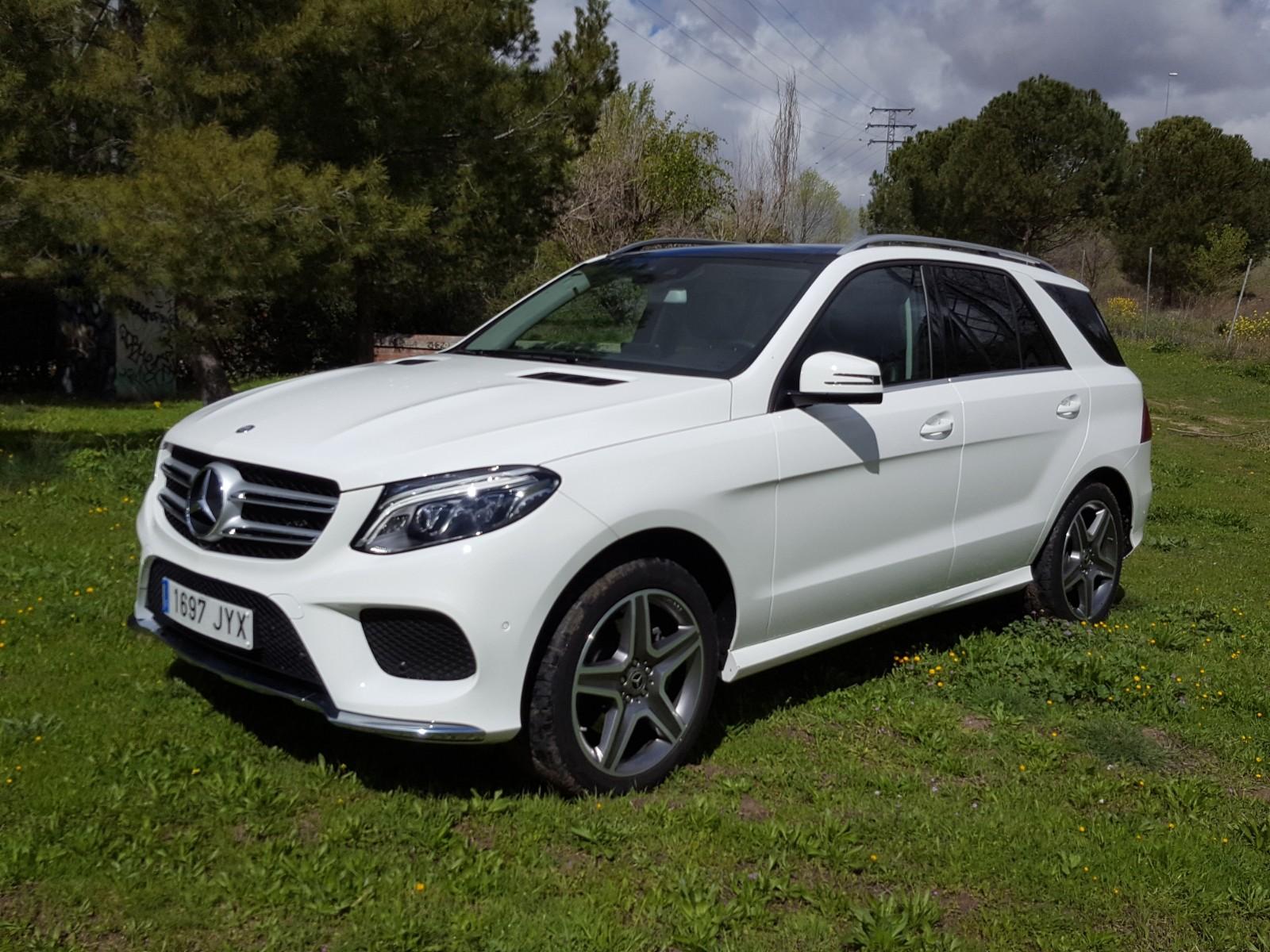 Mercedes-Benz GLE, en su elemento por cualquier terreno