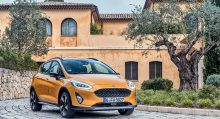 Ford Fiesta Active, Crossover compacto