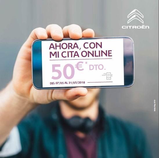 Nueva cita Online en los concesionarios Citroën
