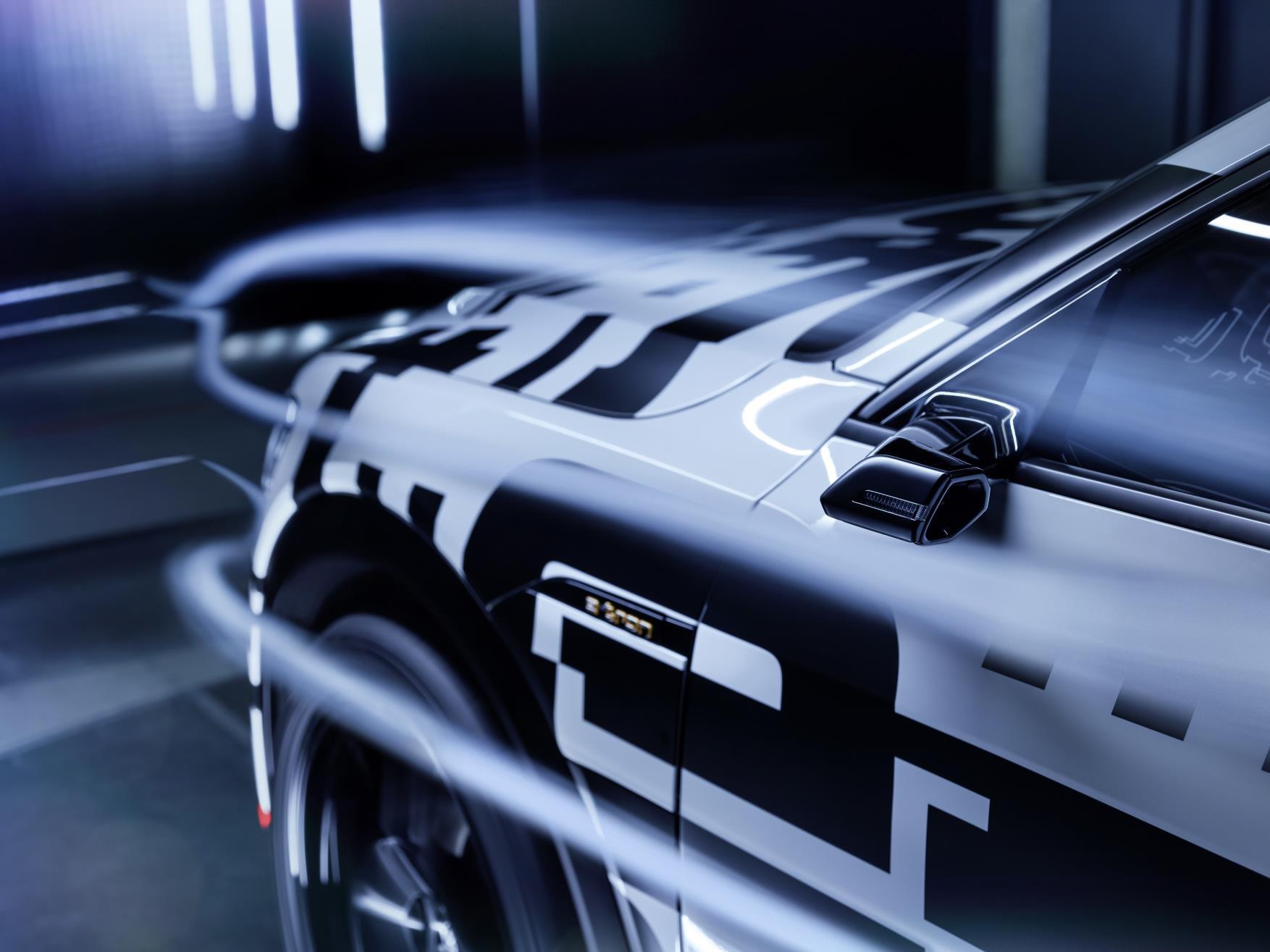 Coeficiente de resistencia aerodinámica del Audi e-tron prototype