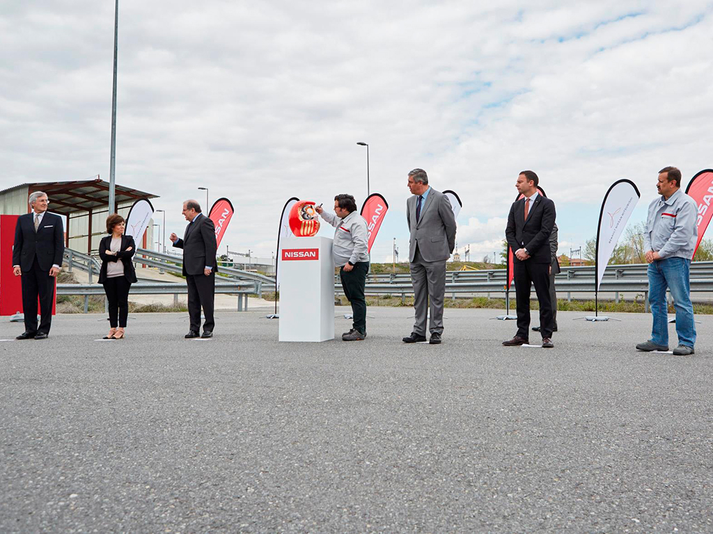 Plan de transformación de la planta de Nissan en Ávila