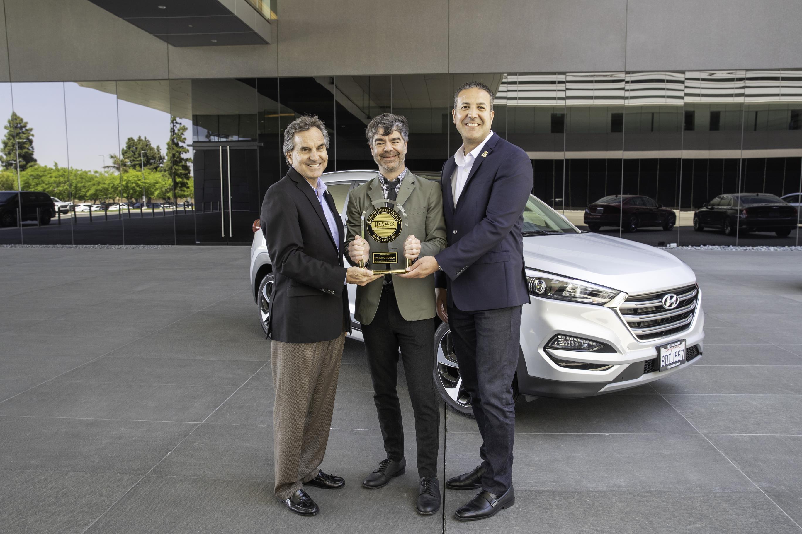 La calidad de los vehículos de Hyundai está entre las mejores de la industria del automóvil