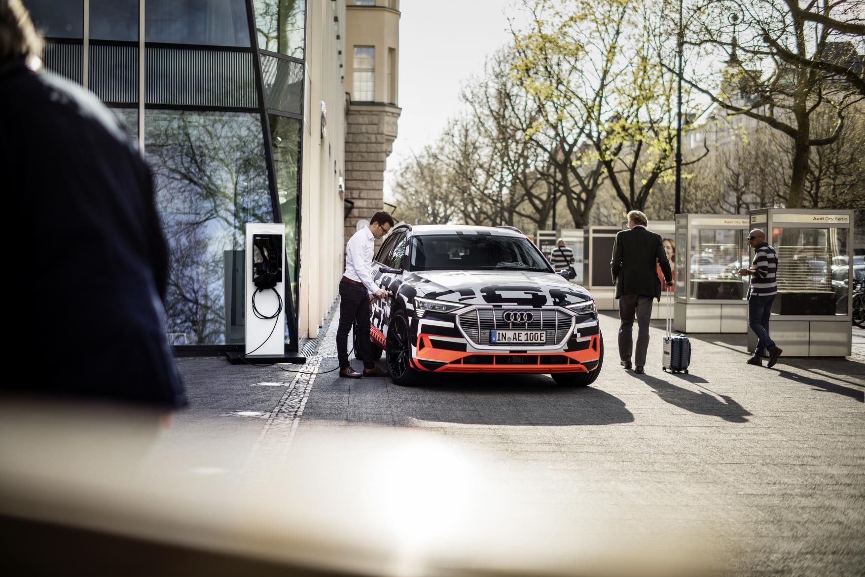 AUDI conecta el coche eléctrico con tu casa
