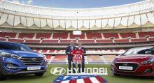 Hyundai Motor patrocinador del Atlético de Madrid