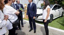 Nissan entrega el LEAF 100.000 en el Europa en el VEM