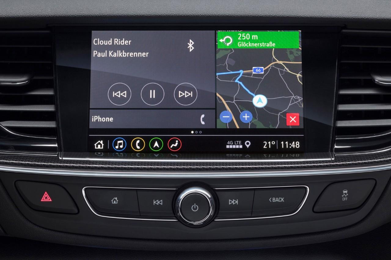 Conectividad en el Opel Insignia