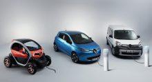 Renault expone su gama Z.E. en el VEM