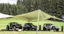 Nuevo Jeep Wrangler en el Jeep Camp