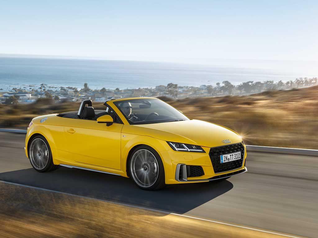 Nuevo Audi TT, espíritu libre