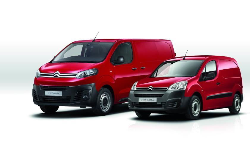 Citroën lidera el mercado de vehículos comerciales