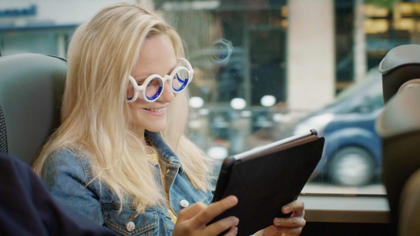SEETROËN, las primeras gafas que eliminan el mareo en los viajes by Citroën