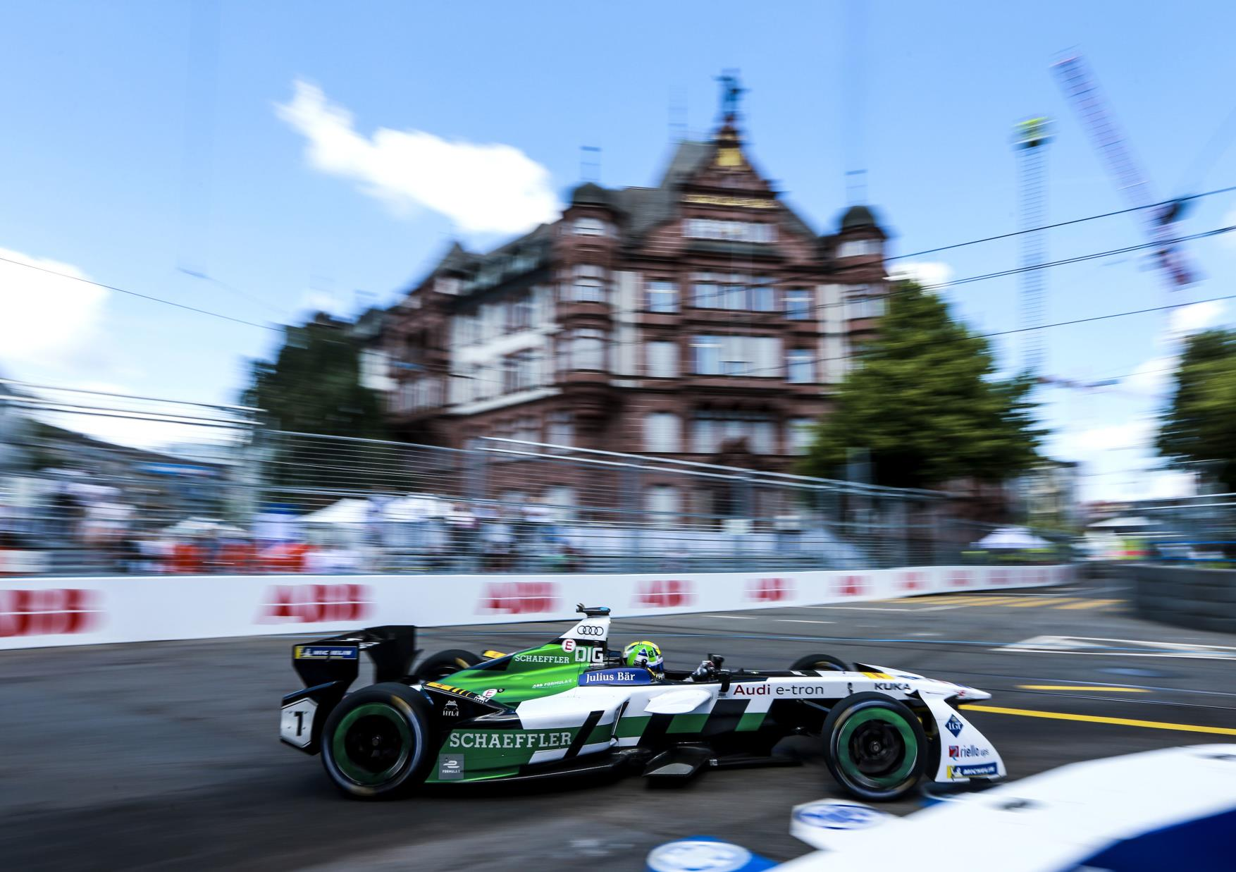 Opciones para AUDI del título de la Fórmula E