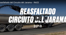 Comienza el reasfaltado del Circuito del Jarama