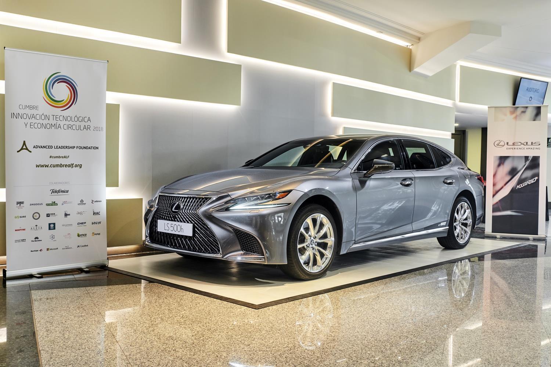 Lexus patrocinador de la primera Cumbre sobre Innovación Tecnológica y Economía Circular